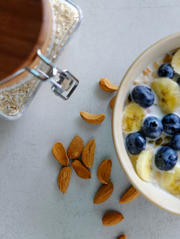 Easy and simple overnight oats recipe