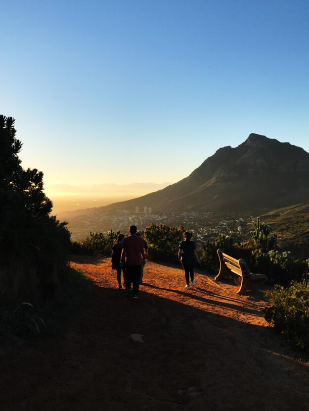 Hiking in Cape Town.