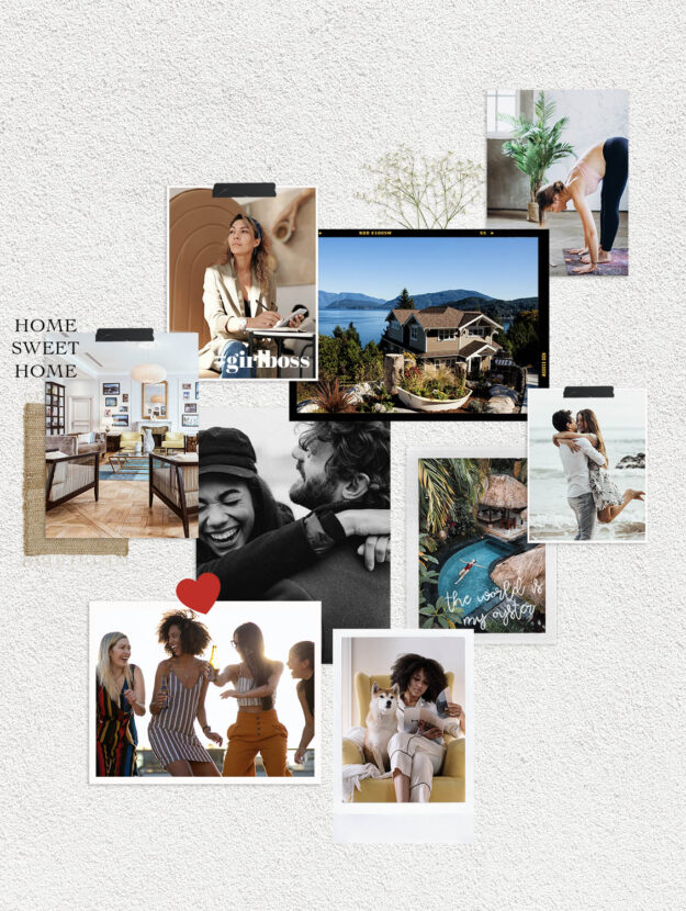 A step by steo guide on how to make a vision board